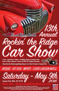 13th Annual Rockin' the Ridge Car Show!